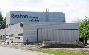 Reaton durvju ražotne