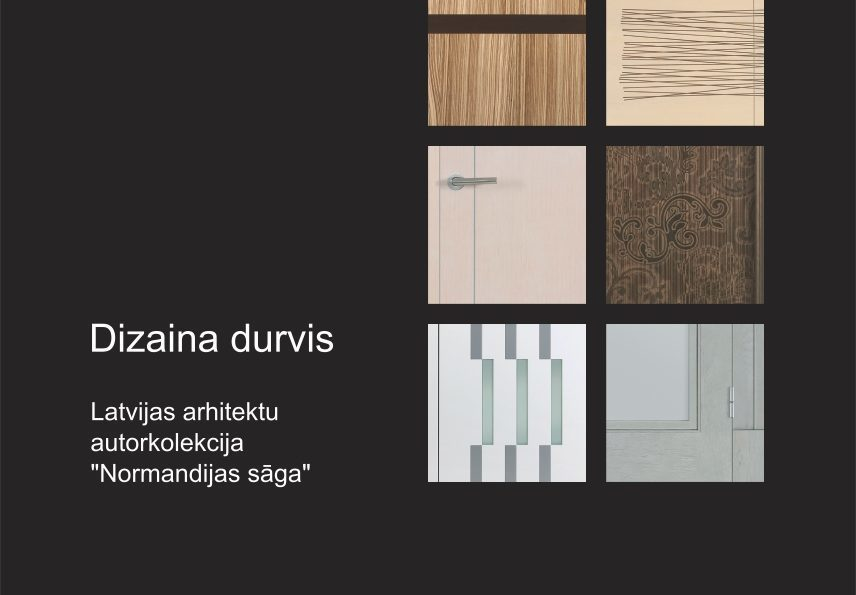 Dizaina durvju kolekcija
