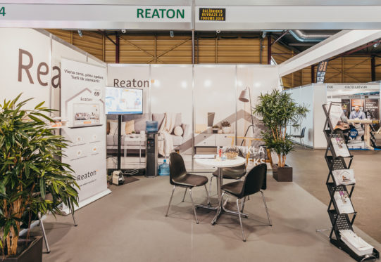 Septembrī Reaton piedalījās izstādē Comfort Home 2019