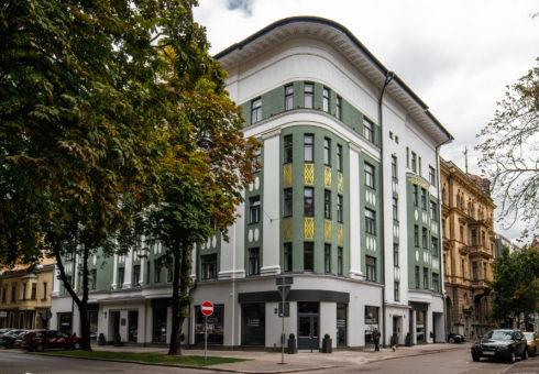 Premium klases daudzdzīvokļu ēka Ausekļa 14, Rīgā
