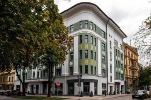 Premium klases daudzdzīvokļu ēka