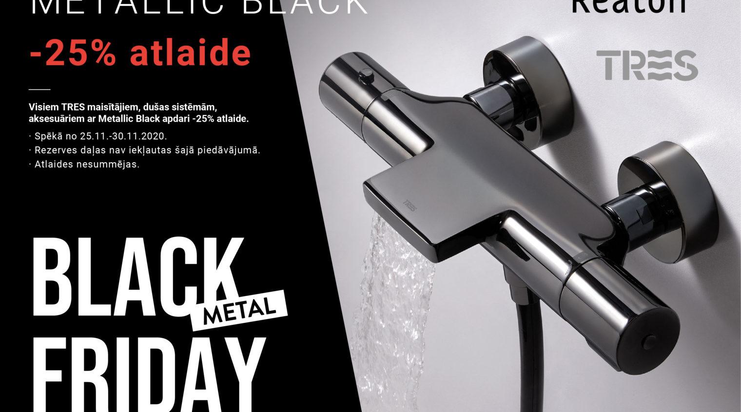 BLACK METAL FRIDAY piedāvājums Reaton!